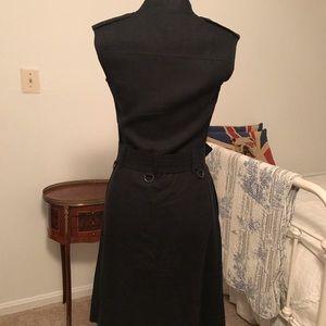 Aquascutum London Dresses - Aquascutum Linen black button down dress.